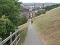 Footpath to Institute Road, Chatham - geograph.org.uk - 1459266.jpg