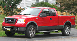 2007–2008 Ford F-150 FX4 extended cab