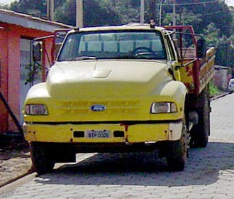 Ford Brasil - The Ford F12000/14000 was built from 1988 until 1996