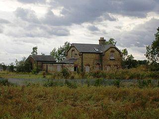 Fordham railway station