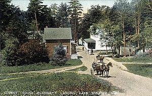 Newbury, New Hampshire - Forest House in 1907