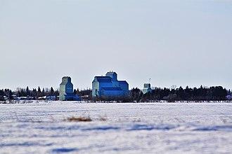 Forestburg, Alberta - Forestburg grain elevators