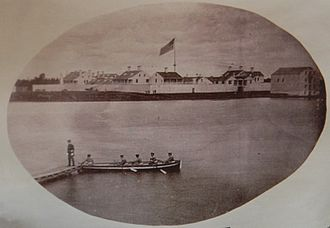 Fort Howard (Wisconsin) - Fort Howard from the Fox River