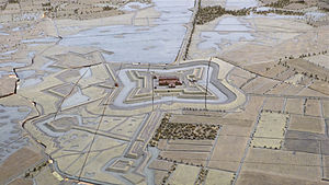 Fort de Roovere - The Fort de Roovere in 1751.