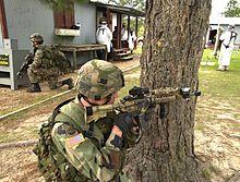 Fort polk op for training