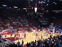 Una partita dell'Olimpia Milano al Mediolanum Forum
