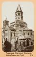 Fotografi av Auvergne. Clermont-Ferrand, Notre Dame du Port - Hallwylska museet - 104532.tif