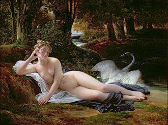 François-Édouard Picot - François-Édouard Picot, Léda (1832).