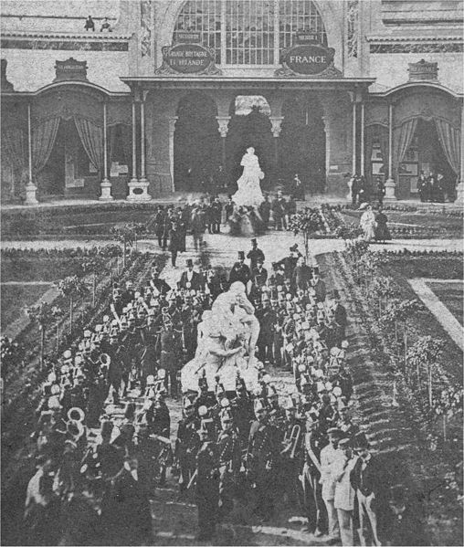 File:France. Band at opening of Paris Internation Exposition, 1867.jpg