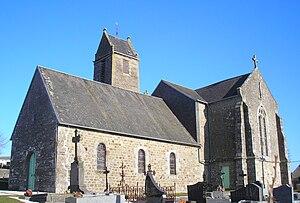 L'église Sainte-Anne.