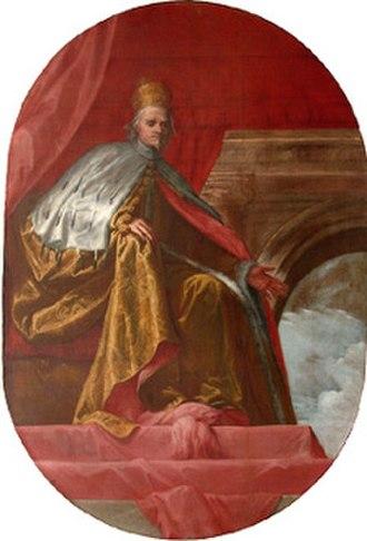 Francesco Cornaro (Doge) - A portrait of Francesco Cornaro by Pietro Liberi.
