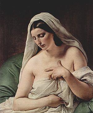 Odalisque (1867) Pinacoteca di Brera, Milan