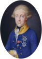Francis I of the Two Sicilies, miniature4 - Hofburg.png