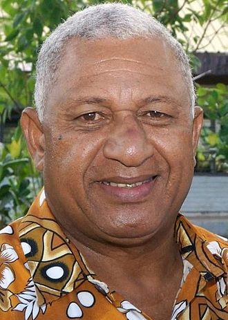 2014 Fijian general election - Image: Frank Bainimarama September 2014