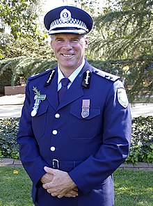 Former Wagga Wagga Local Area Commander, Superintendent Frank Goodyer