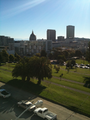Franklin Square Park and view of City Hall San Francisco California.png