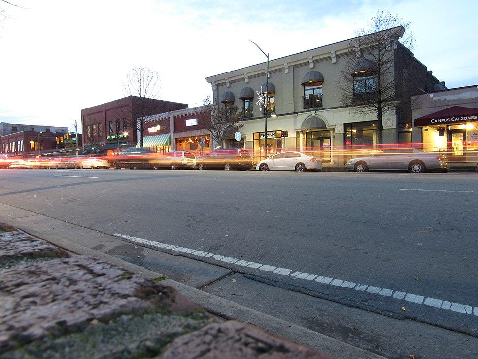 Franklin Street, Chapel Hill, North Carolina