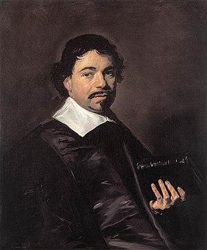 Johannes Hoornbeek - Portrait of Hoornbeeck by Frans Hals