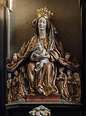 Frauensteiner Schutzmantelmadonna aus der Wallfahrtskirche Frauenstein (Quelle: Wikimedia)