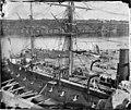 French warship 'Atalante', Fitzroy Dock, Sydney, 1873 A2824964h.jpg