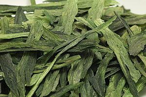 Taiping houkui - Image: Fresh Hou Kui Green Tea 01
