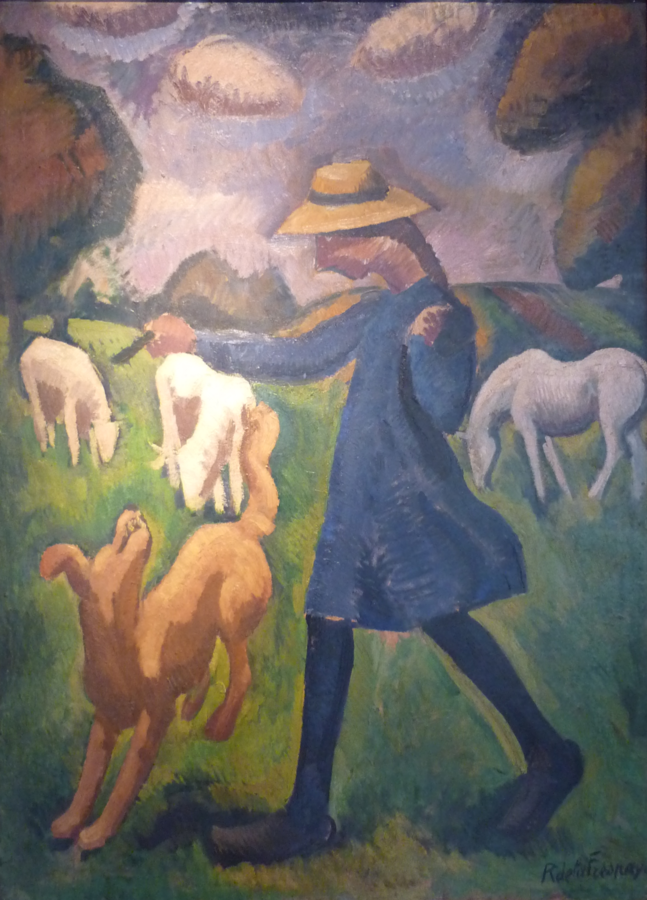 The Shepherdess Marie Ressort as a Child