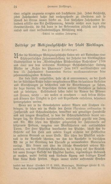 File:Frickhinger Beitraege zur Medizinalgeschichte.pdf