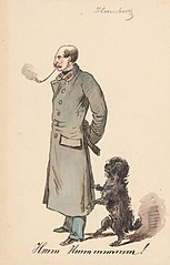 Soldier with a Dog