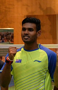 Friendly match between Australian and Indonesian badminton players 2016 - Sawan Serasinghe.jpg