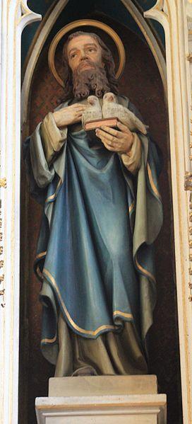 File:Friesach - Dominikanerkirche - Hochaltar - Hl Joachim.jpg