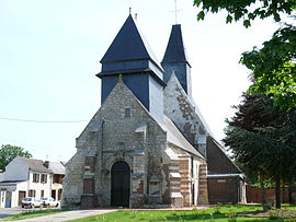 The church in Froissy