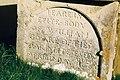 Frome Vauchurch church, gravestone detail - geograph.org.uk - 506092.jpg