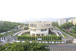Indian Maritime University - Image: Front View(IMUV)