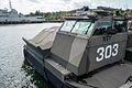 Front of a hovercraft at Berga navy base, Sweden.jpg