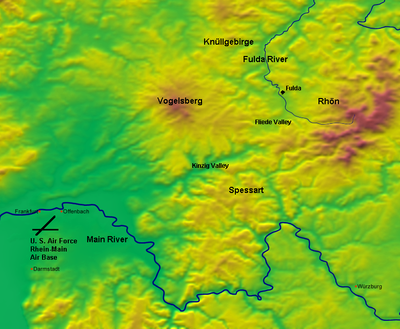 Fulda Gap Terrain Features