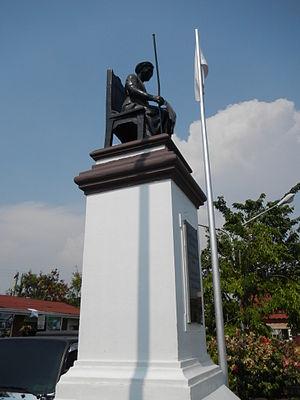 Tarik Sulayman - Tarik Sulayman Monument in Macabebe, Pampanga