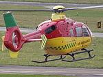 G-KRNW Eurocopter EC135 Bond Air Services Ltd Helicopter (23792655505).jpg