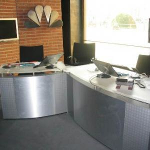 "NBC Europe - Studio of news programme ""GIGA Real"""