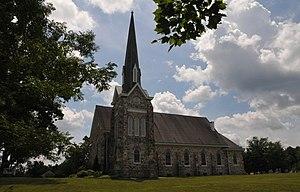 Wallace Township, Chester County, Pennsylvania - Church in Glenmoore