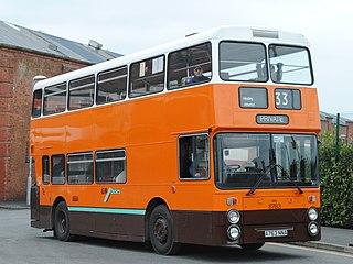 Leyland Atlantean Rear engined double decker bus