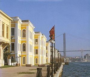 Feriye Palace - Feriye Palace on the Bosphorus in Istanbul, currently used by Galatasaray University