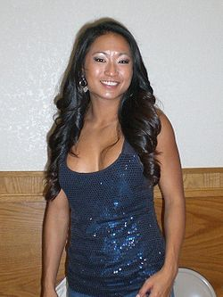 Gail Kim a Newark in California