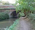 Gallows Hill Bridge and pipe bridge - geograph.org.uk - 579703.jpg