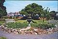 Garden feature - Pleasaunce Gardens, SE9 - geograph.org.uk - 926448.jpg
