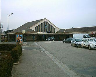 Gare de Lisieux - Lisieux' main station's main building