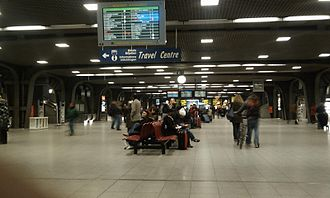 Brussels-South railway station - Station interior