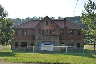 National Register of Historic Places listings in Braxton County, West Virginia - Image: Gassaway Depot