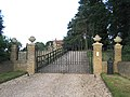 Gates and driveway, Cainhoe Manor, Gravenhurst, Beds - geograph.org.uk - 194252.jpg