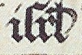 """Gathering of the Manna - Hours of Catherine of Cleves - MS M. 917-945 137v - Morgan Library New York, around 1440 (cropped) - Scribal abbreviation """"isrl"""" for """"israel"""" - 2.jpg"""