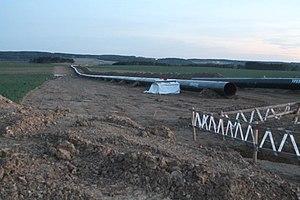 Gazela Pipeline - Image: Gazela 26042012